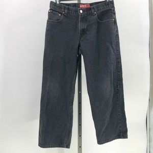 Levi's 550 relaxed fit jeans boys 16 husky 34x28